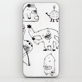 Monster Mash iPhone Skin