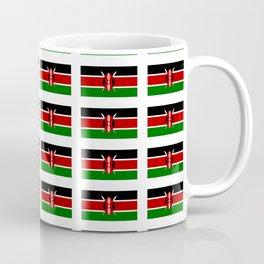 Flag of Kenya -kenyan,kenia,rift valley,serengeti,kilimanjaro,nairobi,mombasa Coffee Mug