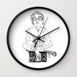 Harriet - Little Girls in Literature Wall Clock