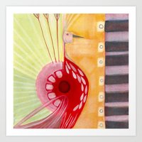 deco Art Prints featuring Deco by angela deal meanix