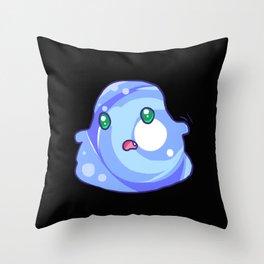 Funny Anime Slime Weird Manga Otaku Kawaii Gift Throw Pillow