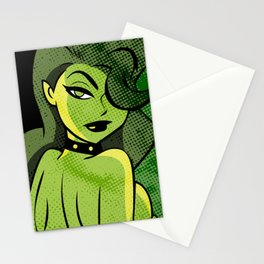 Ladies of DC - Poison Ivy Stationery Cards
