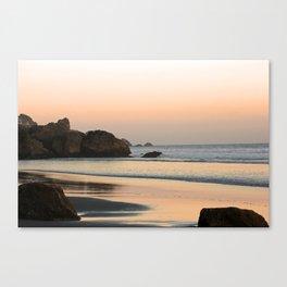 Dusk at Stinson Beach Canvas Print