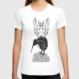 Black and white KIWI T-shirt