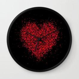 big heart 02 Wall Clock