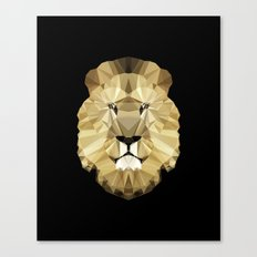 Polygon Heroes - The King Canvas Print