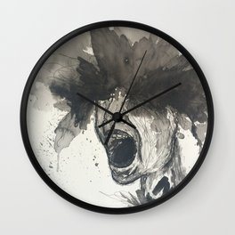 The Pain of Cluster Headaches Wall Clock