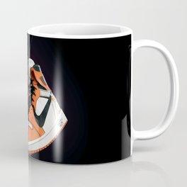 AJ 1 Black Orange Coffee Mug