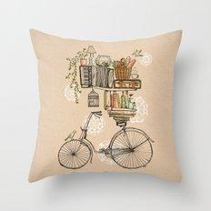 Pleasant Balance Throw Pillow