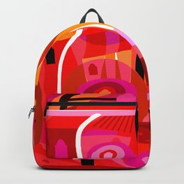 Zacatecas (Red) Backpack