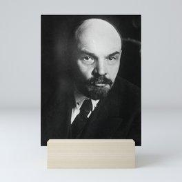 Vladimir Lenin Portrait Mini Art Print