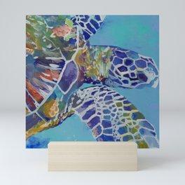 Honu Kauai Sea Turtle Mini Art Print