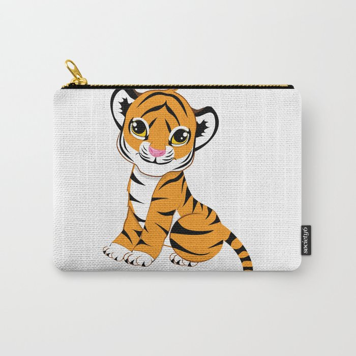 Little Tiger Cub Carry-All Pouch