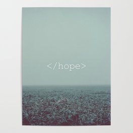 </hope> Poster
