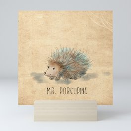 Mr. Porcupine Mini Art Print