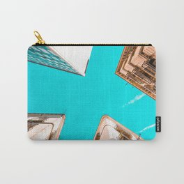 Looking Up, Barcelona City, Travel Print, Barcelona Poster, Architecture In Gothic Quarter, Urban Details, Four Corners, Perspective View, Home Decor, Wall Art Print, Exploring Barcelona, Travel In Spain Carry-All Pouch
