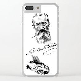 Rimsky-Korsakov Clear iPhone Case