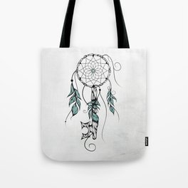 Poetic Key of Dreams Tote Bag