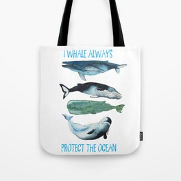whales alwhales Tote Bag