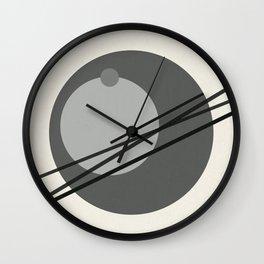 Juxtapose III Wall Clock