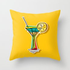 Cocktail Throw Pillow