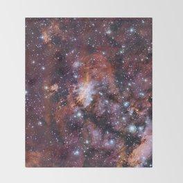 Prawn Nebula Throw Blanket