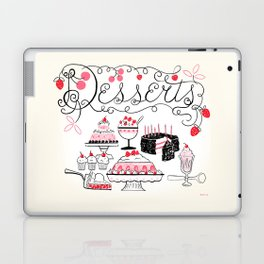 Midcentury Recipes Make Sweet And Lovely Vintage Desserts Laptop & iPad Skin