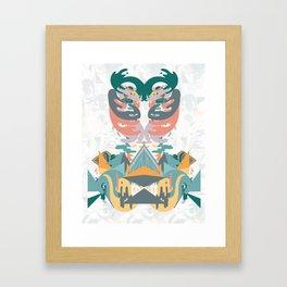 Ribs and the Illuminati Framed Art Print