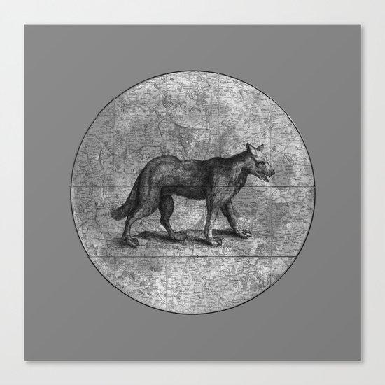 Werewolves of London Canvas Print