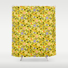 Halloween Candy Shower Curtain