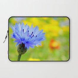 Bachelor's Buttons Flower Laptop Sleeve