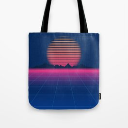 Sci-Fi and Fiction Background Tote Bag
