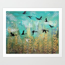 Fly for Fall Art Print