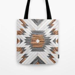 Urban Tribal Pattern No.8 - Aztec - Wood Umhängetasche