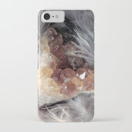 Citrine & Feathers iPhone Case