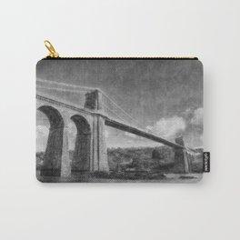 Menai Suspension Bridge Carry-All Pouch