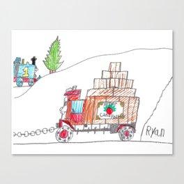 Sodor Deliveries Canvas Print