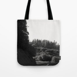 Wine Country Mountain Driving Tote Bag