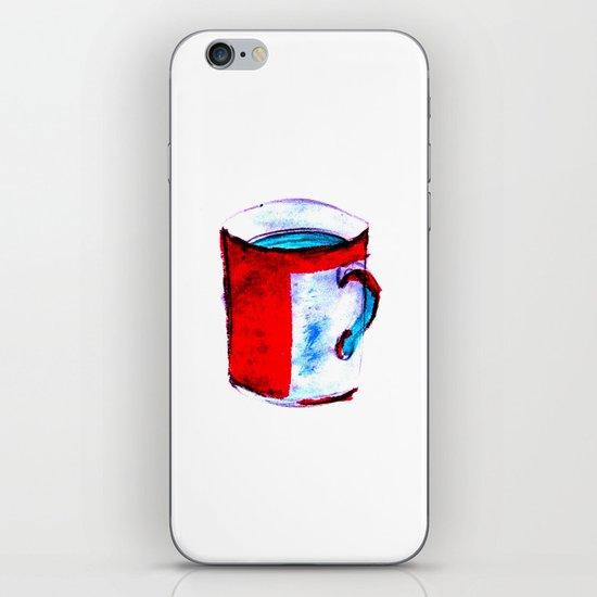 big coffee cup iPhone & iPod Skin
