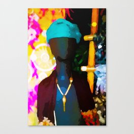 Faceless Canvas Print