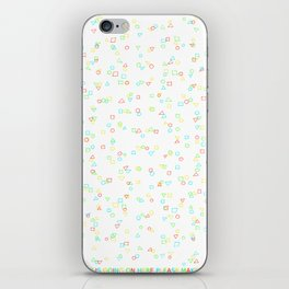 the fuck is going on here iPhone Skin