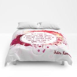 Jules Renard's quote Comforters