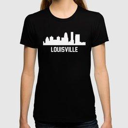 Louisville Kentucky Skyline Cityscape T-shirt