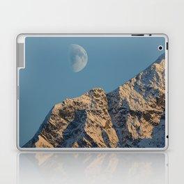 Moon Over Pioneer Peak - II Laptop & iPad Skin