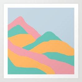 MOUNTAIN PGO Art Print