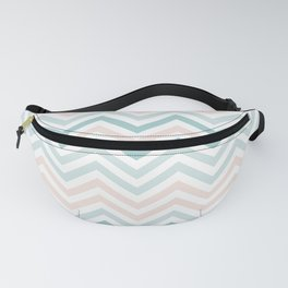 Abstract Waves Pattern Fanny Pack