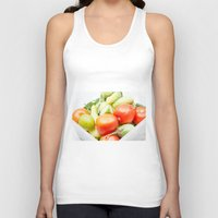 vegetables Tank Tops featuring vegetables by Marcel Derweduwen
