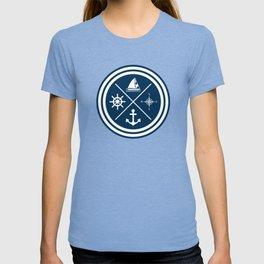 Sailing symbols T-shirt