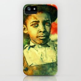 Face of Greatness iPhone Case