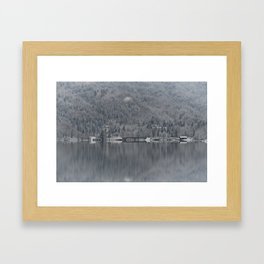 Church At Lake Bohinj Framed Art Print